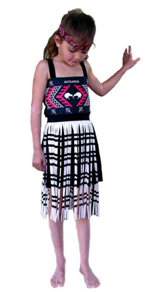 Maori Girls Costume small