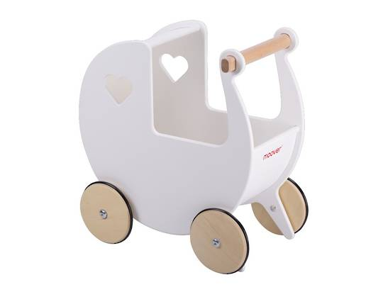 Moover Doll's Pram White NEW version
