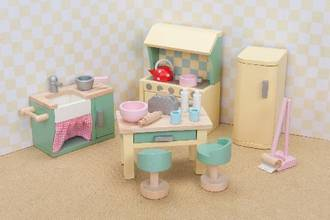 Le Toy Van DaisyLane Kitchen Furniture Set