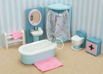 Le Toy Van DaisyLane Bathroom Furniture Set