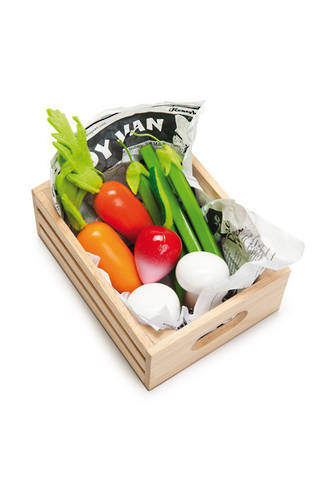 Le Toy Van Harvest Vegetables Market Crate