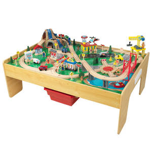 KidKraft Adventure Town Railway Set & Table