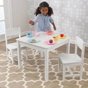 KidKraft Aspen White Table & 2 Chairs set