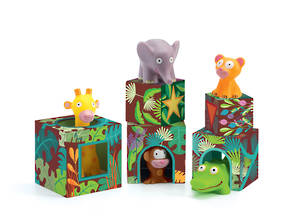 Djeco Topanijungle Stacking Blocks
