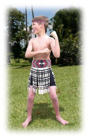 Maori Boy Costume small