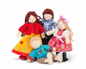 Le Toy Van Doll Family New