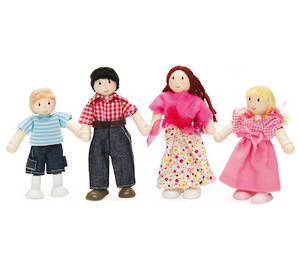 Le Toy Van My Family Dolls