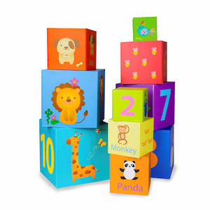 Classic World Stacking Cubes