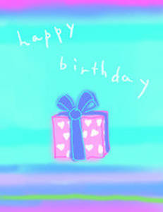 Gift Card - Happy Birthday design