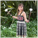 Maori Girl Costume Extra Large