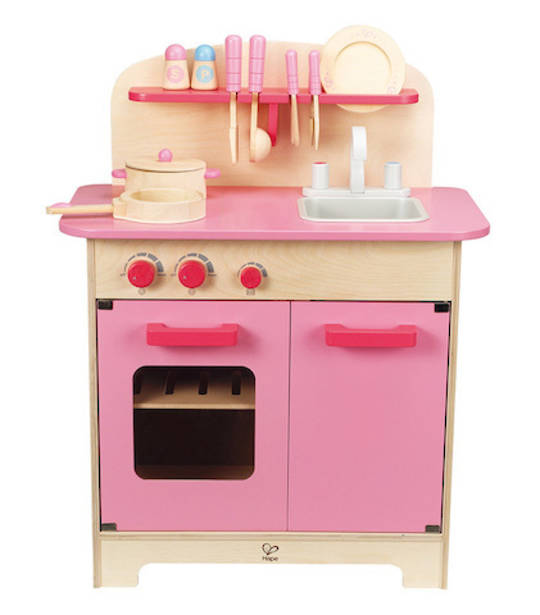 Pink Gourmet Kitchen With Cookware: HAPE: Shop Online