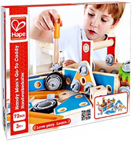Handyman S Go To Caddy Hape Toy Tool Sets Online