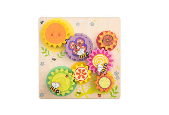 "Petilou Gears & Cogs ""Busy Bee Learning"""