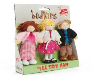 Le Toy Van Budkins Family dolls