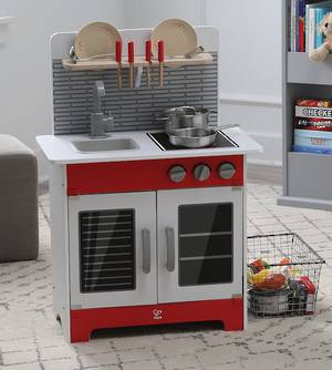 Hape City Cafe Red Play Kitchen